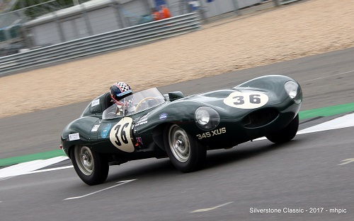 Jay Shepherd to race Jaguar D Type at Silverstone Classic